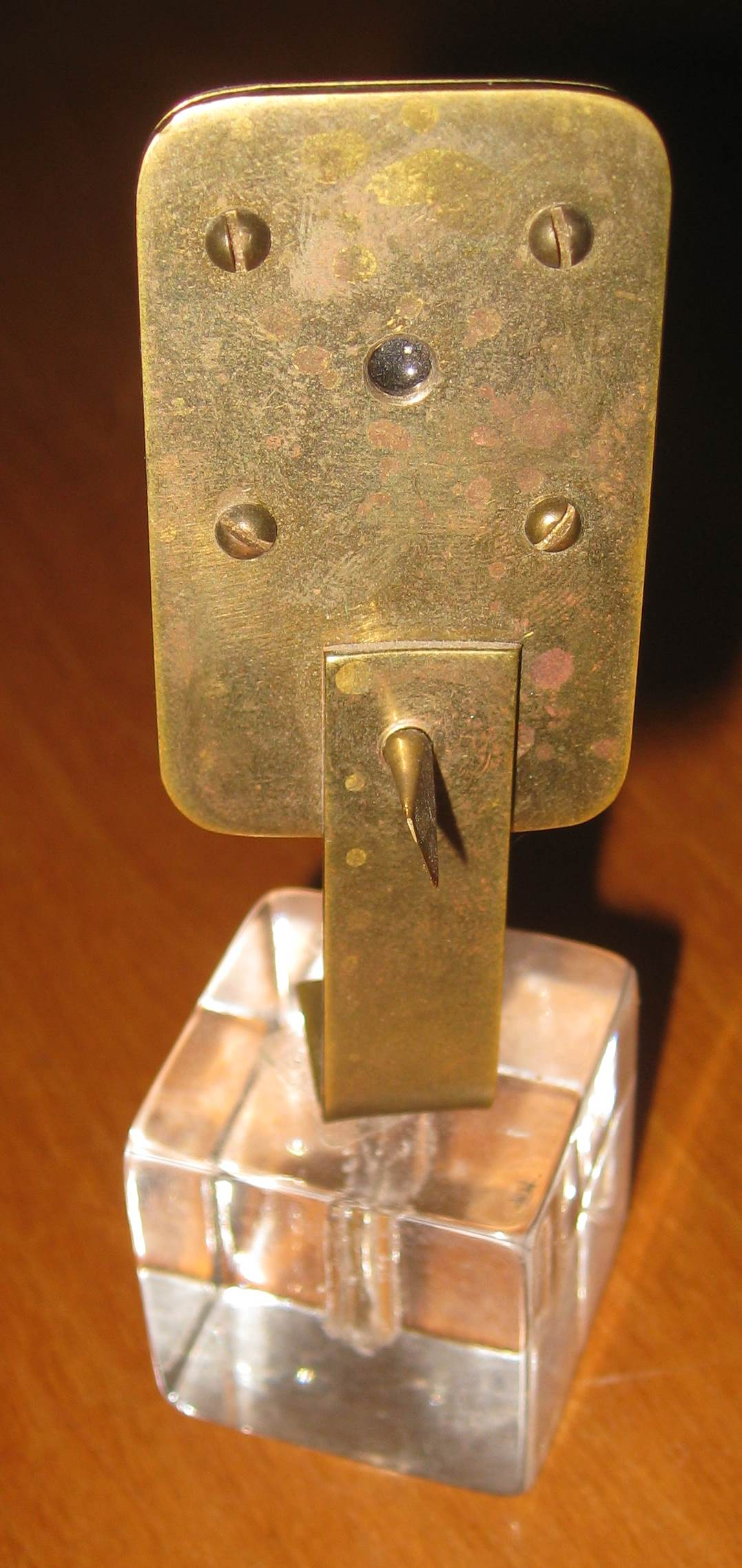 Replica of Anton von Leeuwenhoek's Microscope