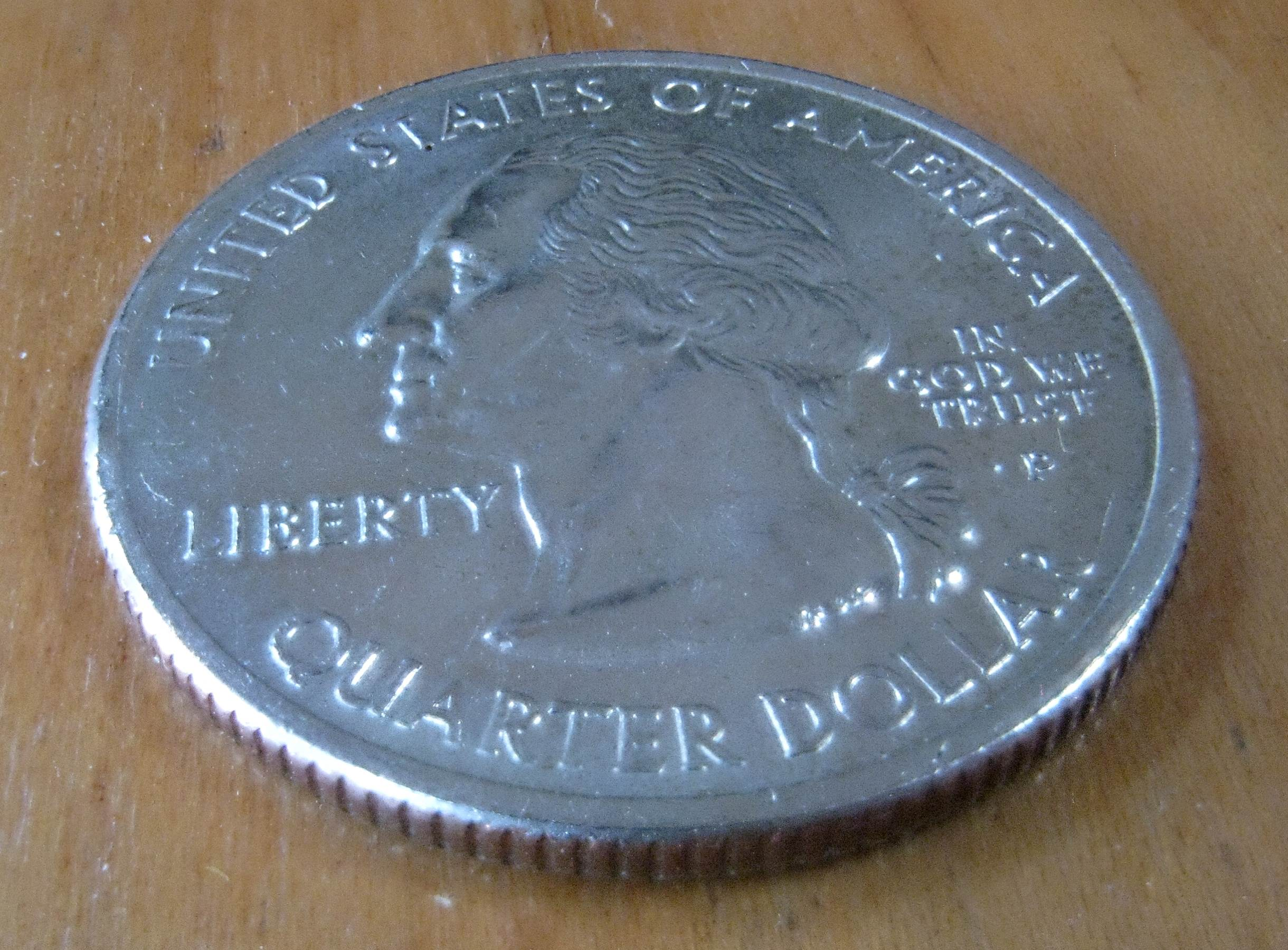 Stacked quarter